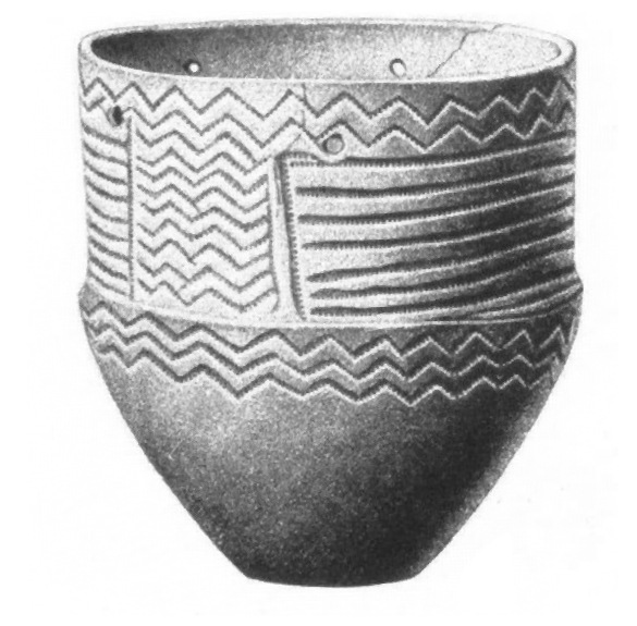 Funnel Beaker ceramics, found in Sweden