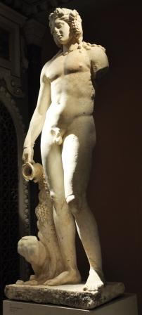 Dionysus, the god of wine